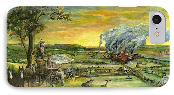 Bleeding Kansas - A Life And Nation Changing Event IPhone Case by Mary Ellen Anderson