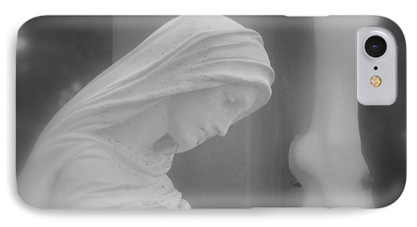 Blessed Mother Phone Case by Beth Vincent