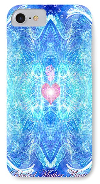 Blessed Mother Mary IPhone Case by Diana Haronis