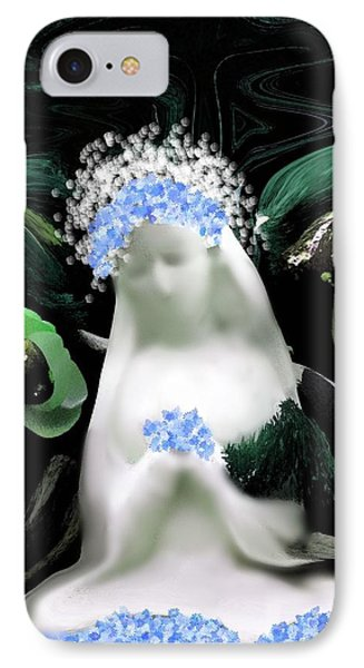 Blessed Mother Mary Phone Case by Sherri's Of Palm Springs