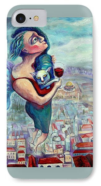Blessing Over The Wine Phone Case by Elisheva Nesis