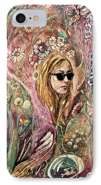 IPhone Case featuring the painting Blind Beauty by Mikhail Savchenko