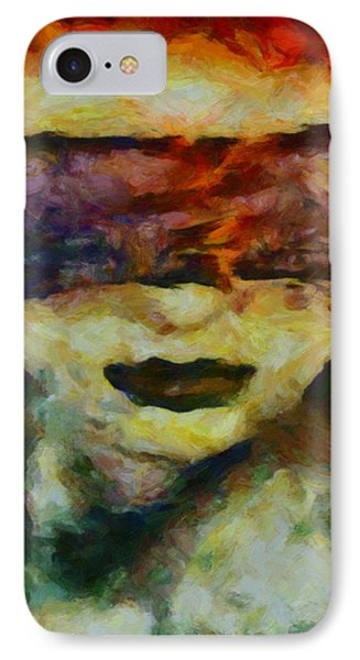 IPhone Case featuring the digital art Blinded By Sorrow by Joe Misrasi