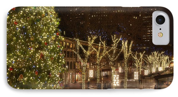 Blink At Faneuil Hall - Boston IPhone Case by Joann Vitali