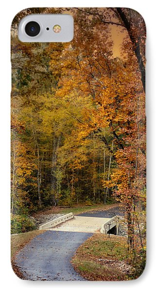 Bliss - Autumn Landscape IPhone Case by Jai Johnson