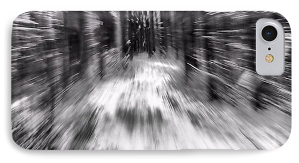Blizzard In The Forest Phone Case by Dan Sproul