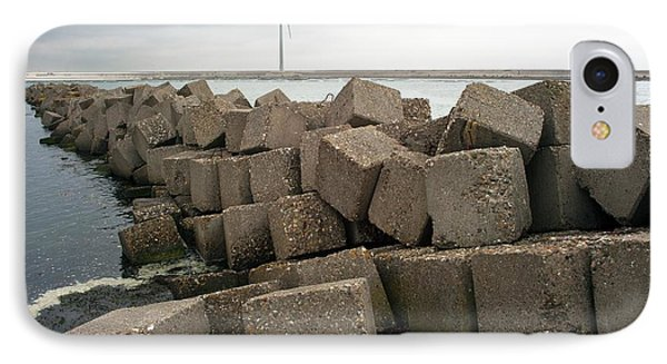 Block Dam IPhone Case by Dirk Wiersma
