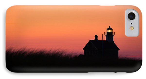 Block Island North Lighthouse IPhone Case by Diane Diederich