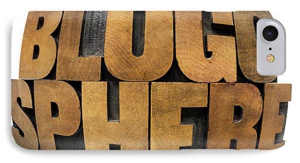 Blogosphere  IPhone Case by Marek Uliasz