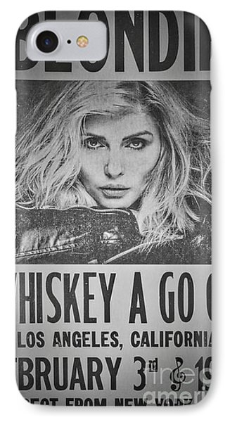 Blondie At The Whiskey A Go Go IPhone Case by Mitch Shindelbower