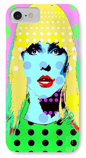 Blondie IPhone Case by Ricky Sencion