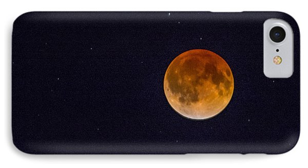 Blood Moon And Stars IPhone Case