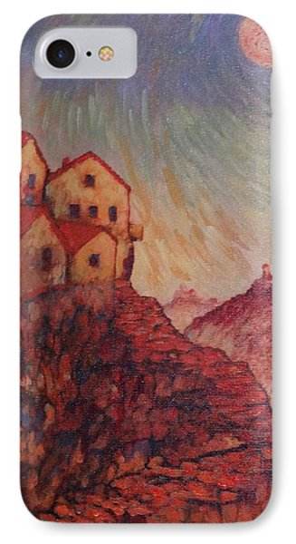 IPhone Case featuring the painting True Self Verses Ego False Self by Charles Munn