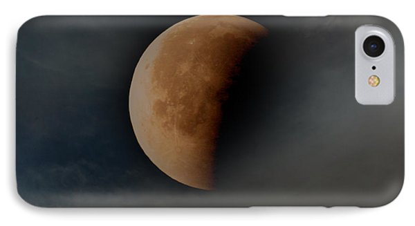 Blood Moon IPhone Case by Joseph G Holland