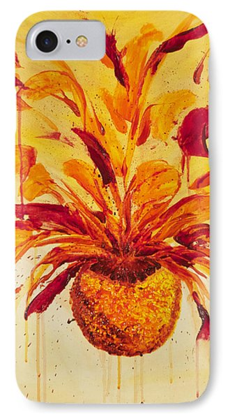 Blood Orange Ginger IPhone Case by Phoenix The Moody Artist