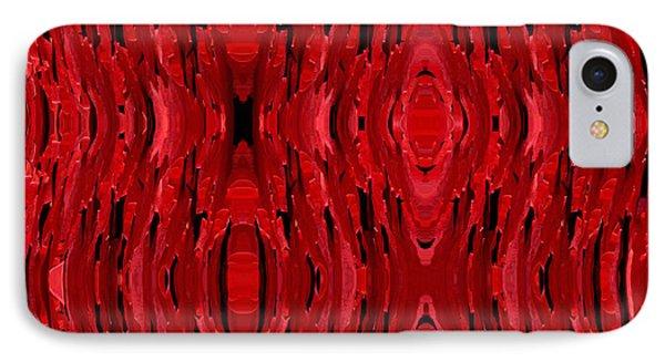 Blood Revenge-mechanical- Imaginary Texture Phone Case by David Winson