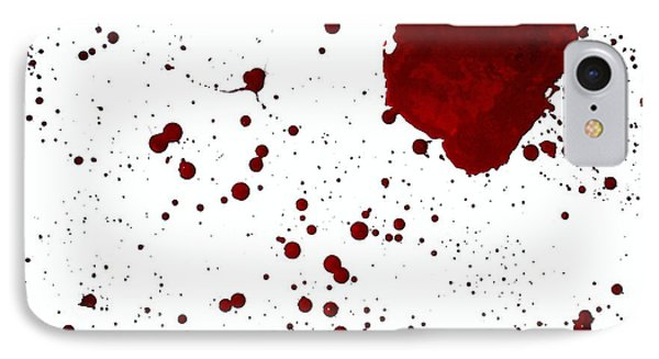 blood splatter PANCHAKARMA IPhone Case