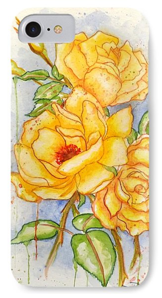 IPhone Case featuring the painting Blood Sweat And Tears by Darren Robinson