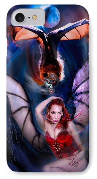Blood Wings IPhone Case