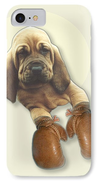 Bloodhound Boxer Phone Case by Jimmy Collins