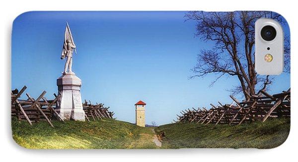 Bloody Lane - Antietam Battlefield IPhone Case
