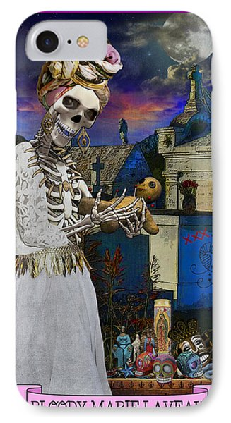Bloody Marie Laveau IPhone Case by Tammy Wetzel