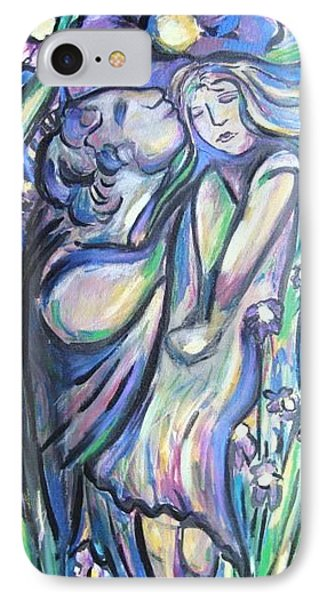 IPhone Case featuring the painting Bloomed by Dawn Fisher
