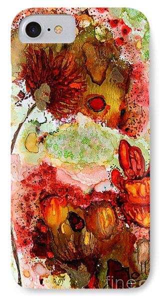 Blooming Impressions.. IPhone Case
