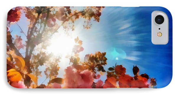 Blooming Sunlight IPhone Case by Derek Gedney