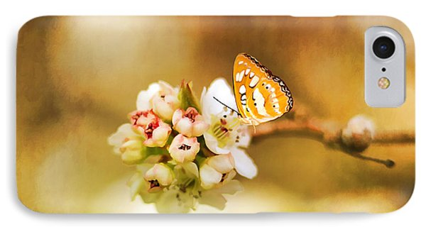 Blooms And Butterflies Phone Case by Darren Fisher