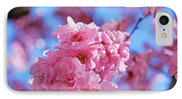 Blossom Flowers Trees Art Prints Phone Case by Baslee Troutman