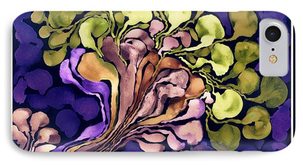 Blossom Of Spring    Purple Phone Case by Cathy Peterson