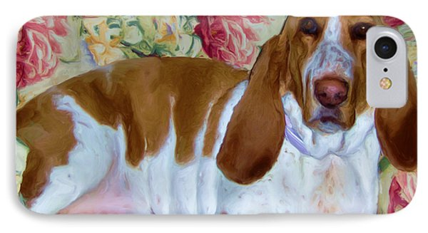 Blossom The Bassett Hound IPhone Case