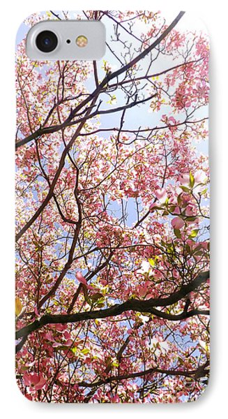 Blossoming Pink IPhone Case by Robyn King