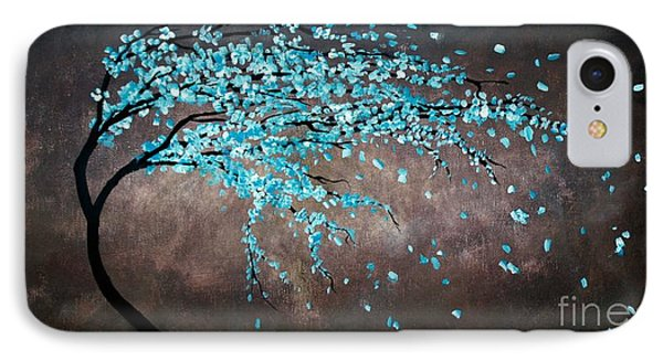 Blossoms In The Wind IPhone Case by Michael Grubb
