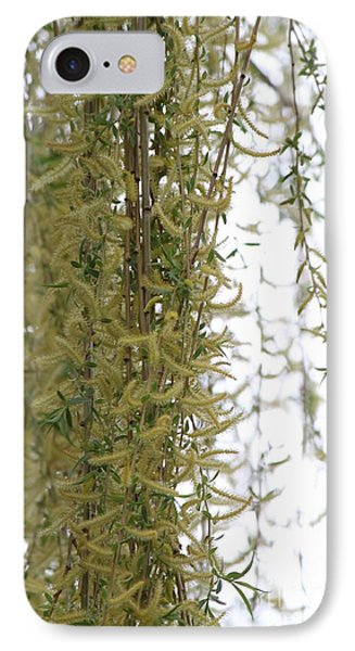 Blossoms Of The Willow 1 Phone Case by Jennifer E Doll