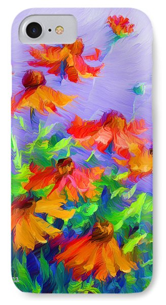 Blowing In The Wind IPhone Case by Georgiana Romanovna