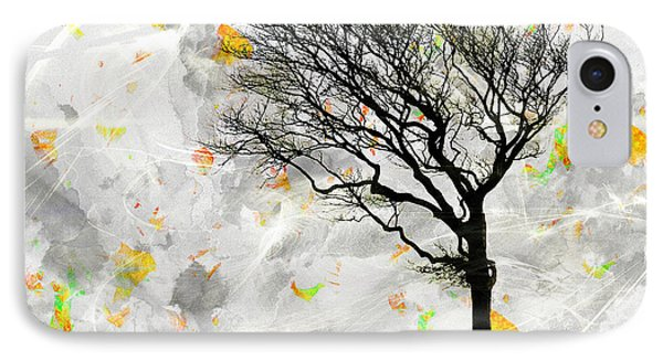 Blowing It The Wind IPhone Case by Edmund Nagele