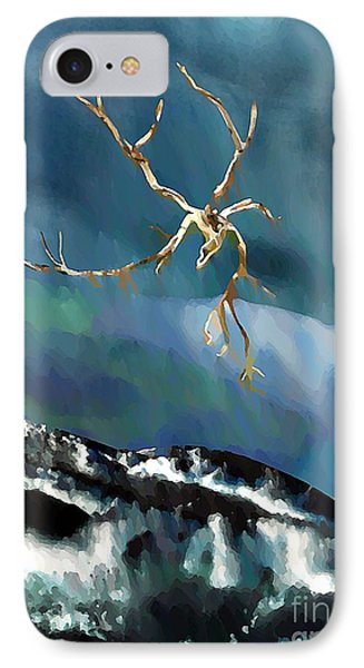 Blown Away To Sea IPhone Case by Sarah Loft