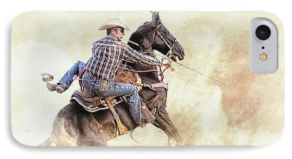 Blown Spur IPhone Case by Ron  McGinnis