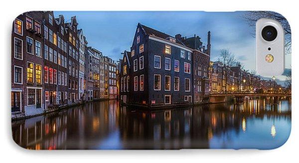 Blue Amsterdam IPhone Case