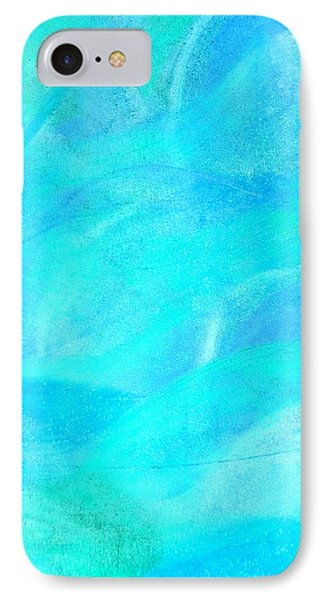 Blue And Aqua Abstract IPhone Case