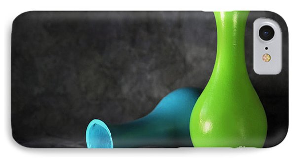 Blue And Green Phone Case by Dan Holm