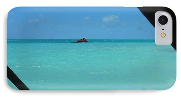 IPhone Case featuring the photograph Blue And Green by Photographic Arts And Design Studio