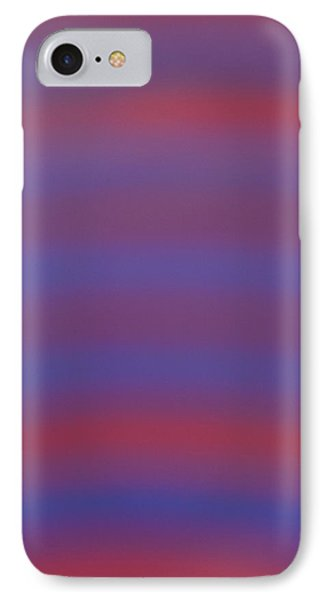 Blue And Red IPhone Case
