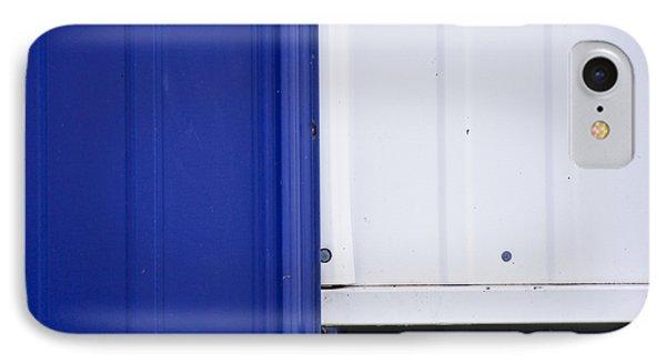Blue And White Phone Case by Christi Kraft