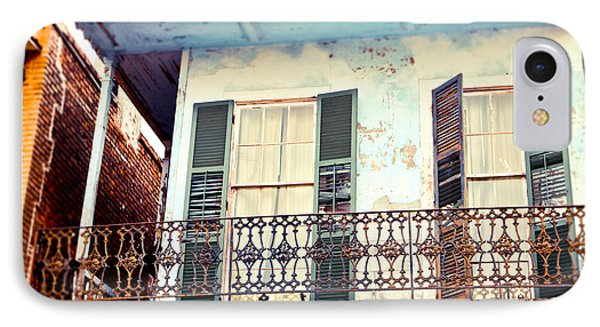 IPhone Case featuring the photograph Blue And Yellow House by Sylvia Cook