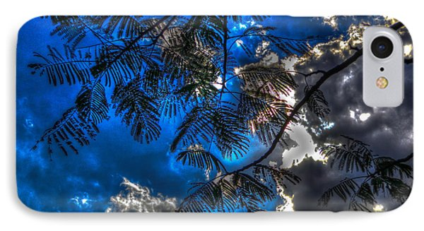 IPhone Case featuring the photograph Blue And Yellow Skies by Ross Henton