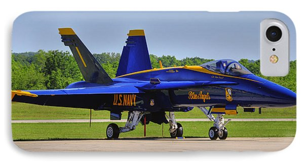 Blue Angel 1 IPhone Case by Dan Myers
