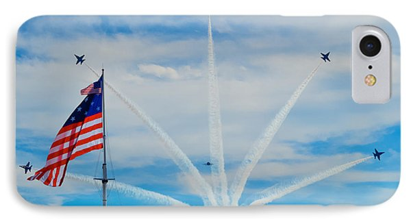 Blue Angels Bomb Burst In Air Over Fort Mchenry Finale IPhone Case